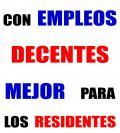 Con empleos decentes mejor para los residentes