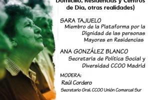 Charla-coloquio en Leganés sobre atención a la dependencia y residencias