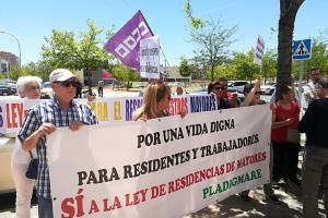 El día 30 de mayo estuvimos con las trabajadoras de Aralia